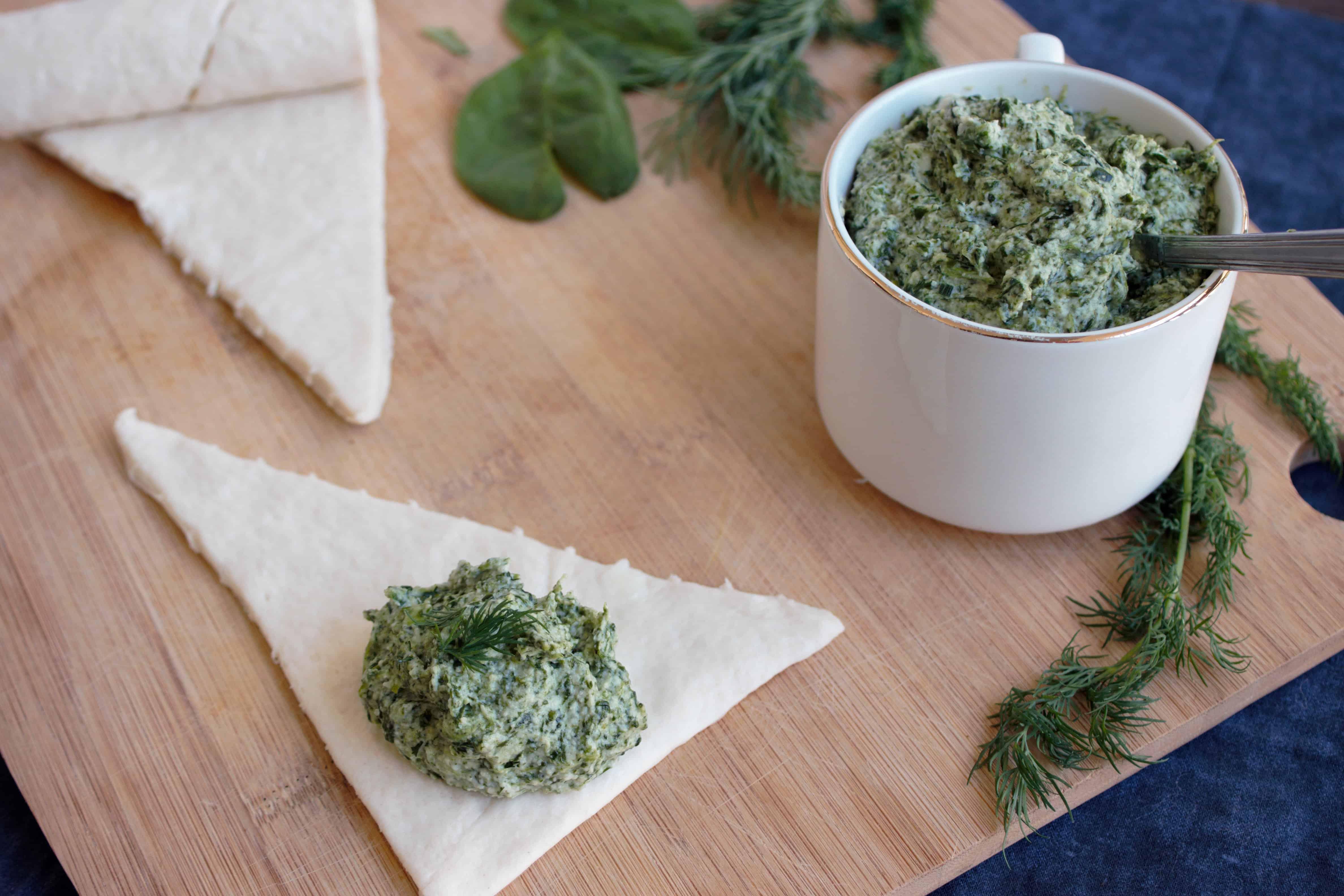 spinach puff