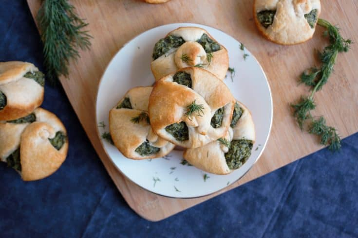 Spinach Puff Pastry