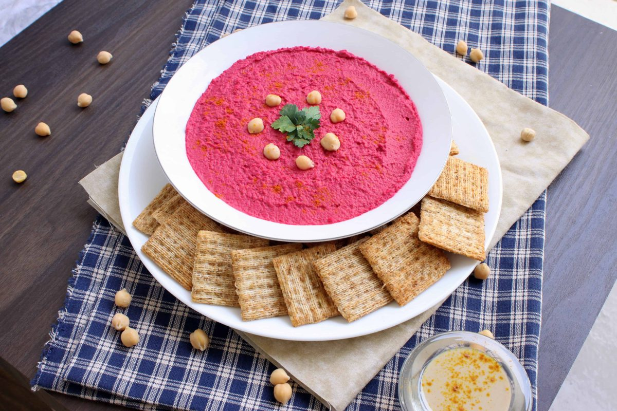 Beetroot-Hummus