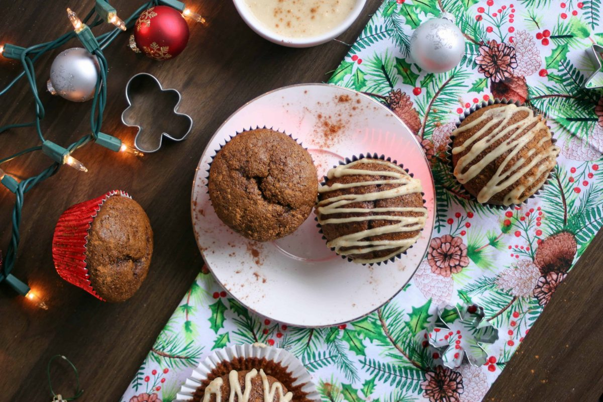 Healthy-Gingerbread-Muffins