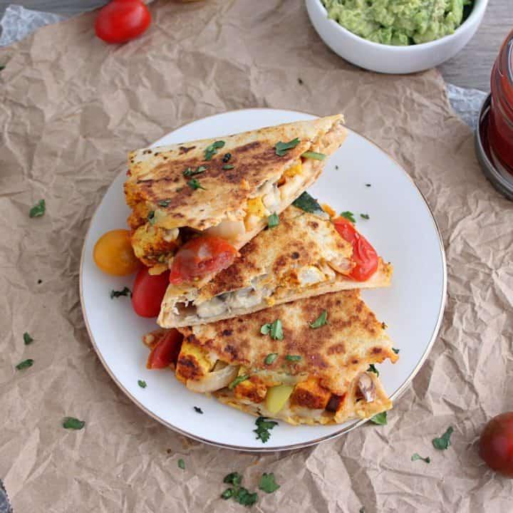 Vegan Comfort Food Quesadilla