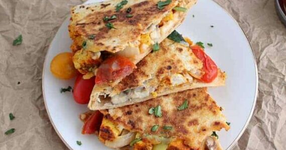 Vegan Comfort Food Quesadilla