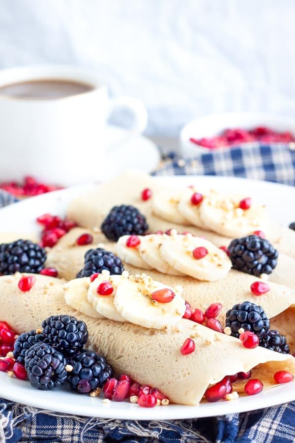 Vanilla Crepe Recipe