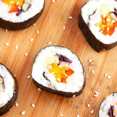 Vegan Sushi Recipe