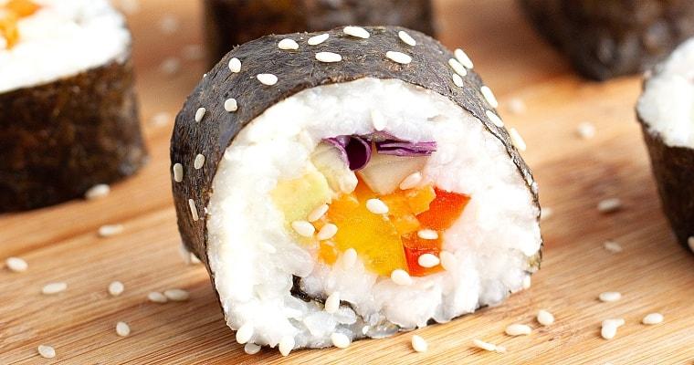 Vegetarian Sushi Recipe
