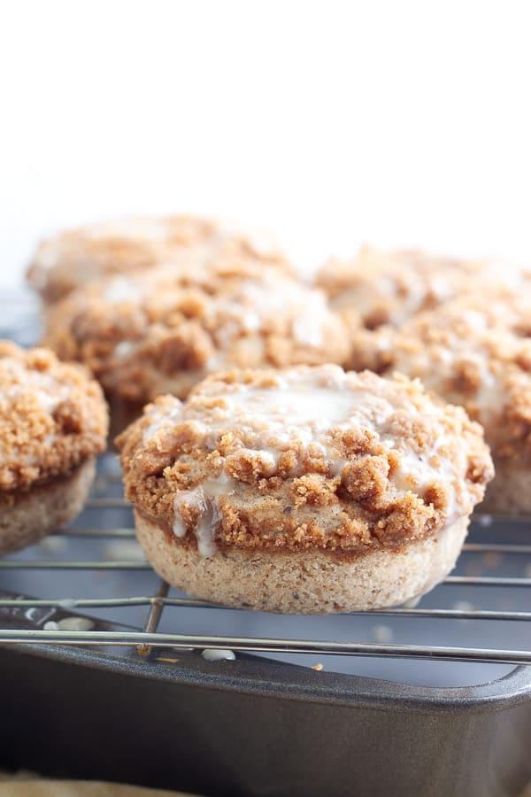 Easy Vegan Coffee Cake Donuts
