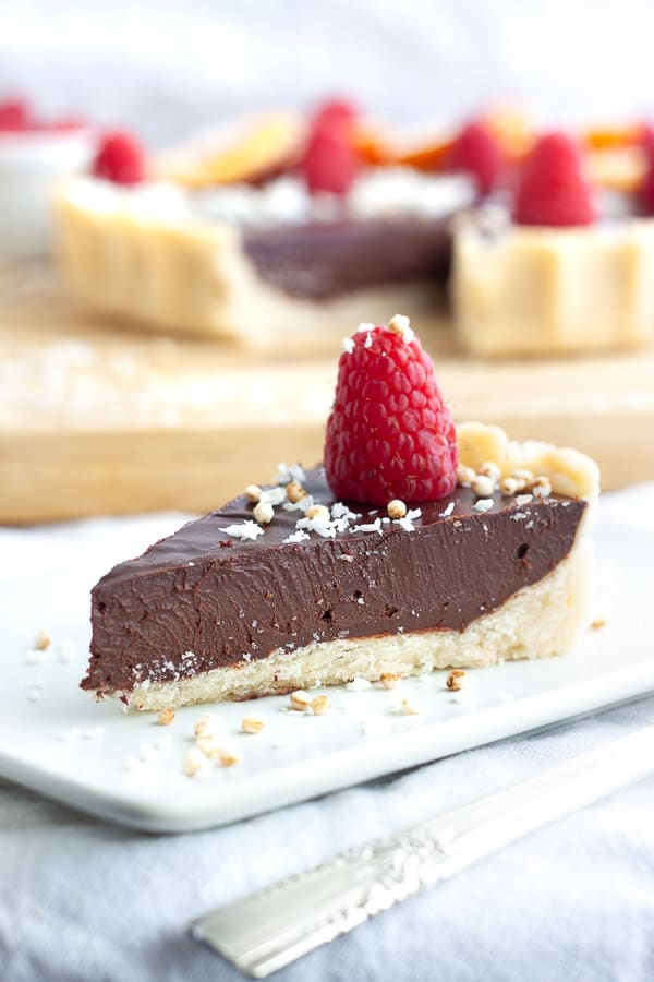 Dairy Free Chocolate Tart