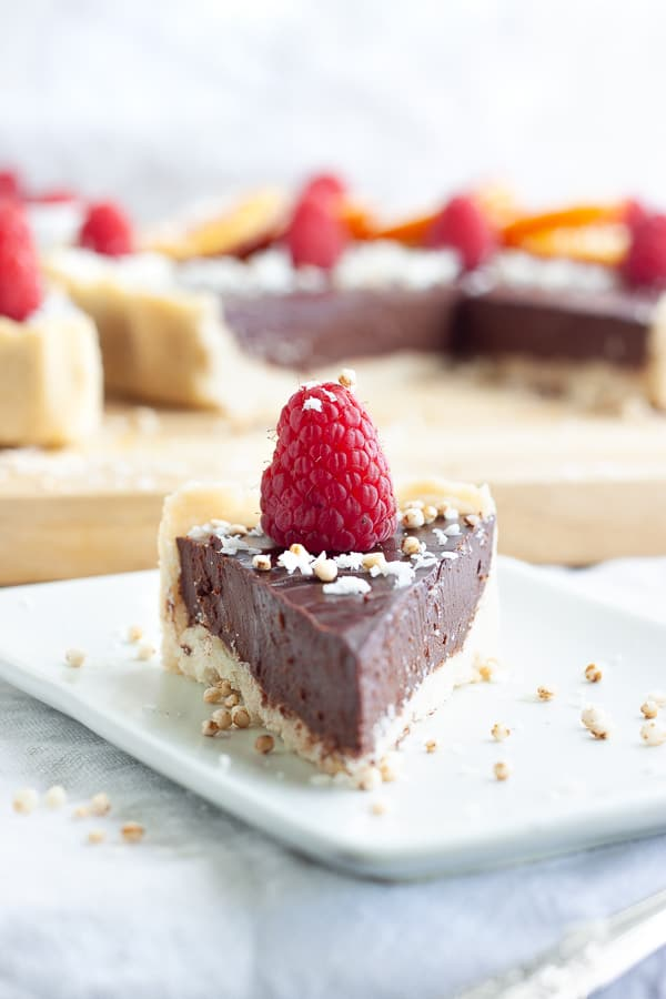 Egg Free Chocolate Tart