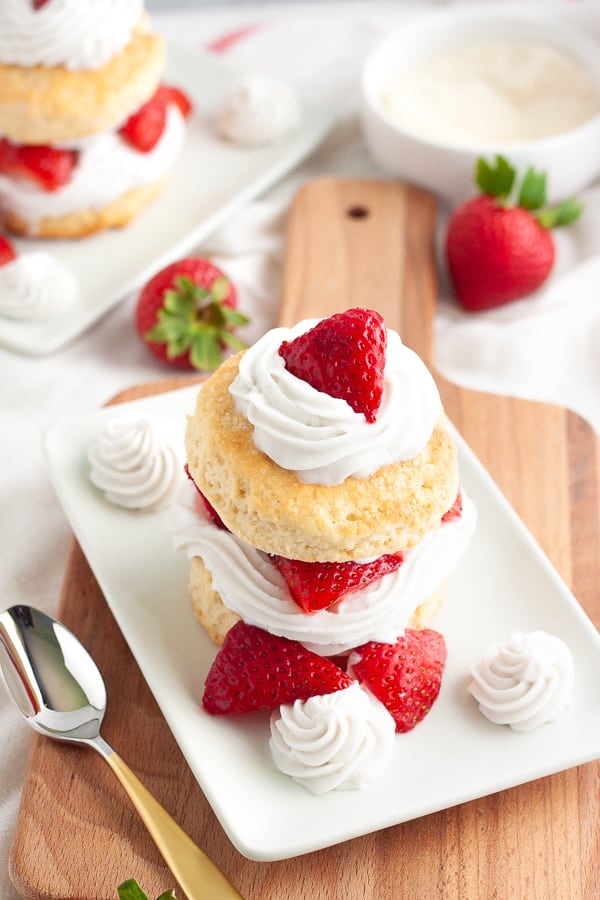 Vegan Strawberry Shortcake Recipe
