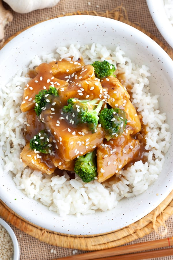 Vegetarian Orange Tofu