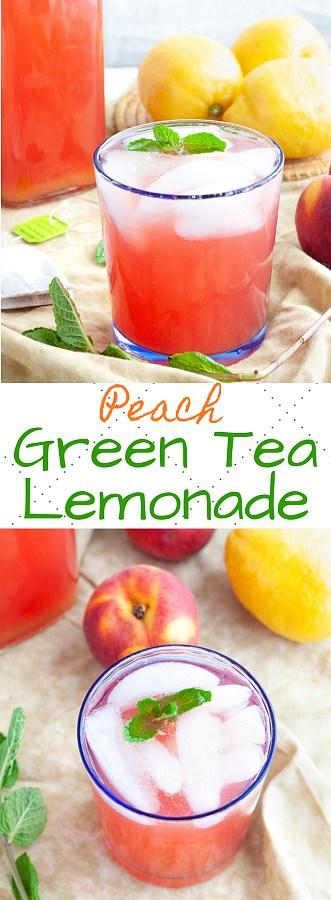 Peach Green Tea Lemonade