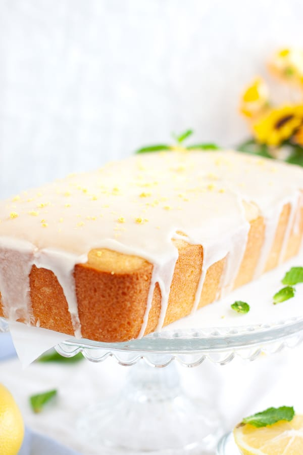 Simple Vegan Lemon Loaf