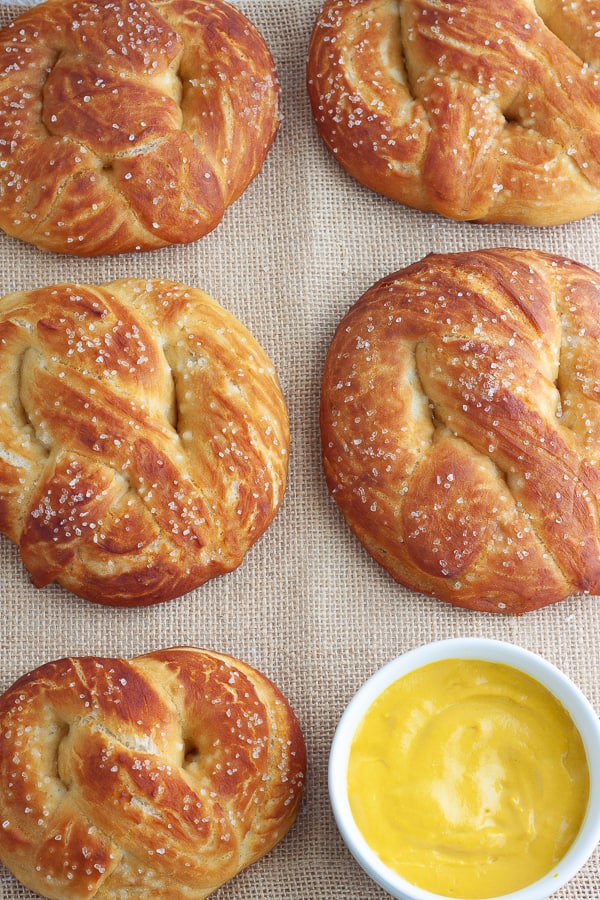 Homemade Soft Pretzels
