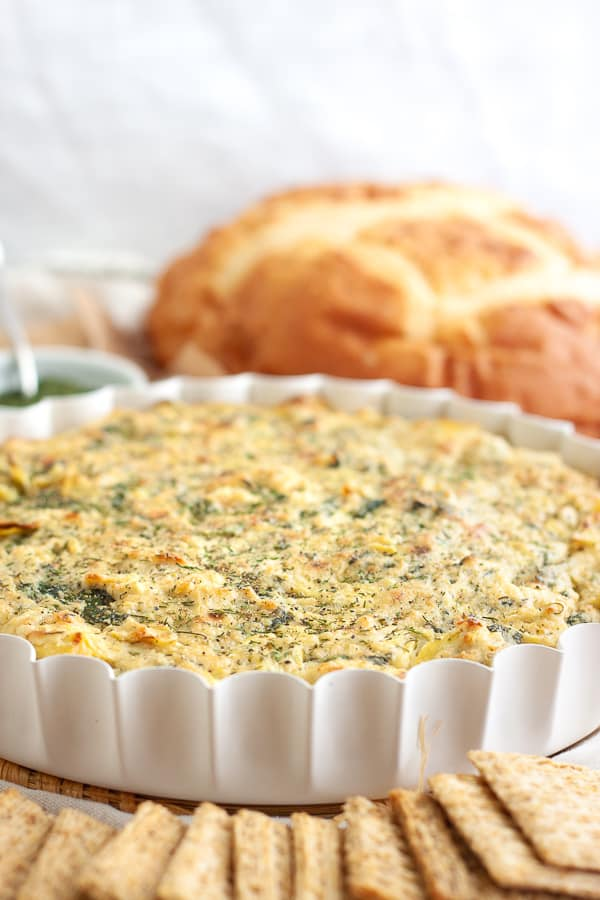 Vegan Spinach Artichoke Dip Recipe