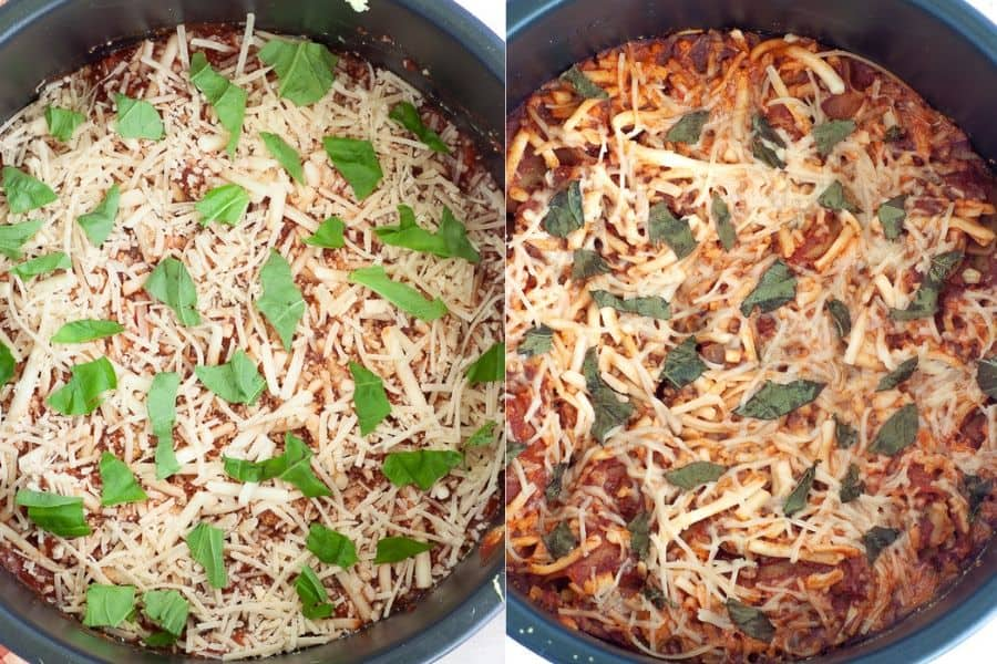 Slow Cooker Vegan Lasagna
