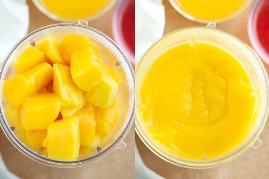 Mango Popsicle Recipe Orange