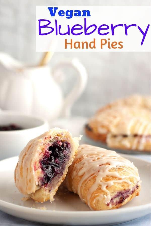 Vegan Blueberry Hand Pies
