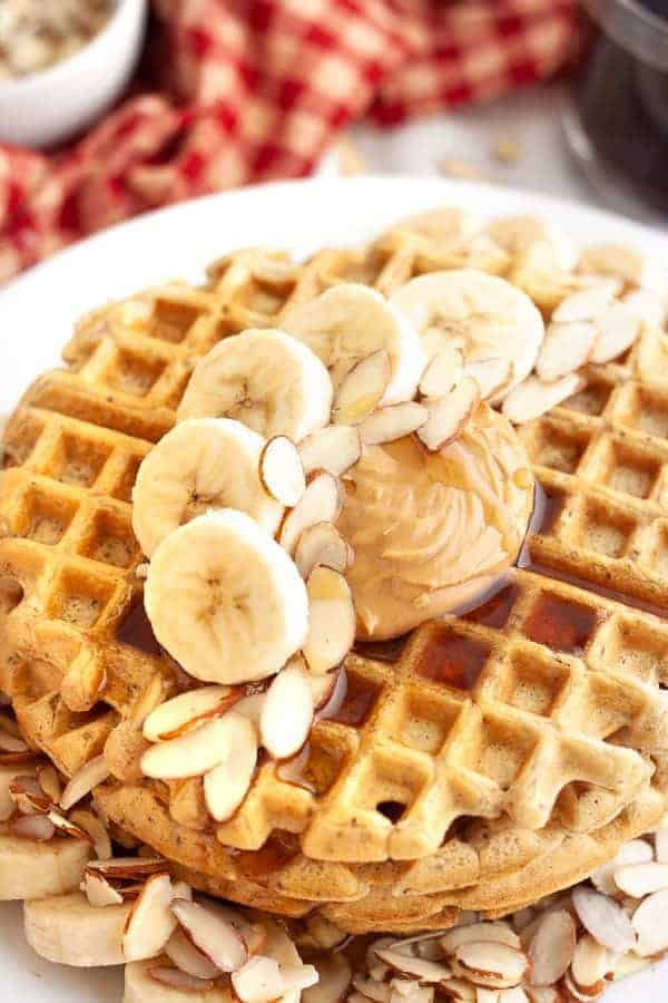 Easy Vegan Waffles