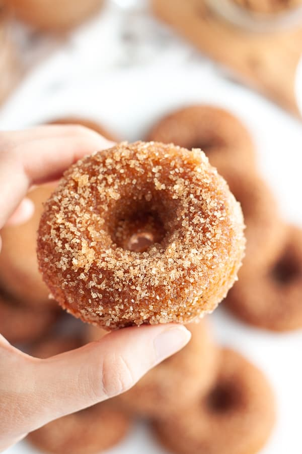 Easy Vegan Apple Cider Donuts