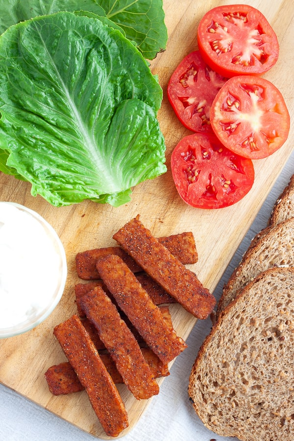Vegan BLT Ingredients