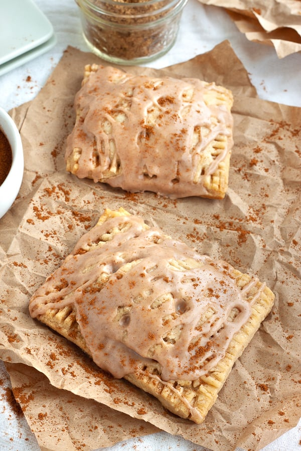 Vegan Brown Sugar Pop Tarts
