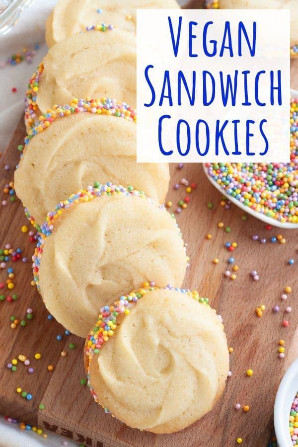 Vegan Sandwich Cookies
