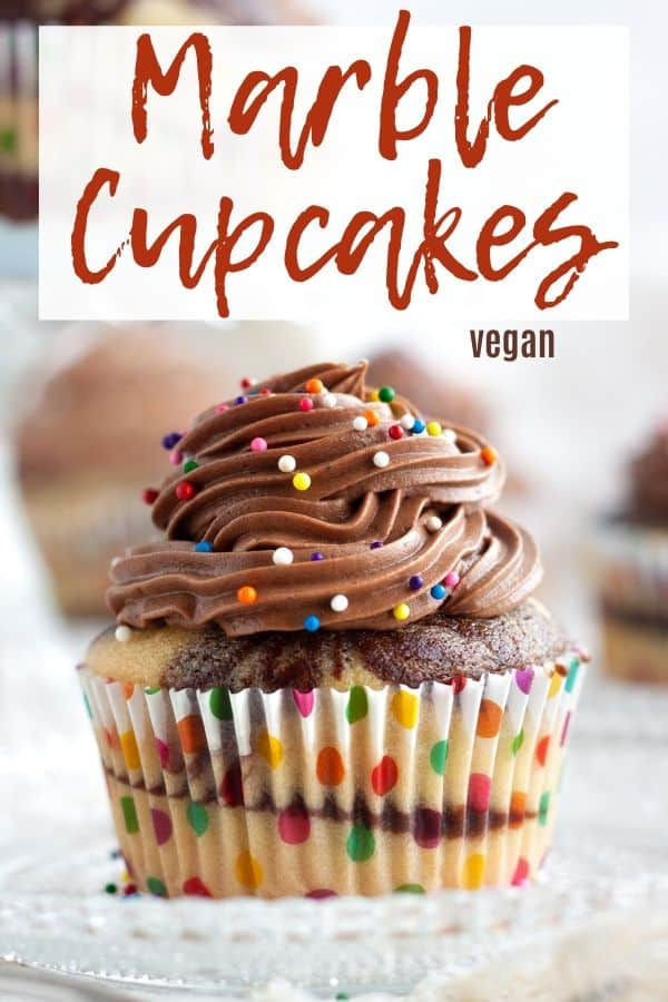 Vegan Marble Cupcakes
