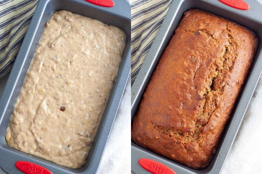 Easy Vegan Banana Bread Baking