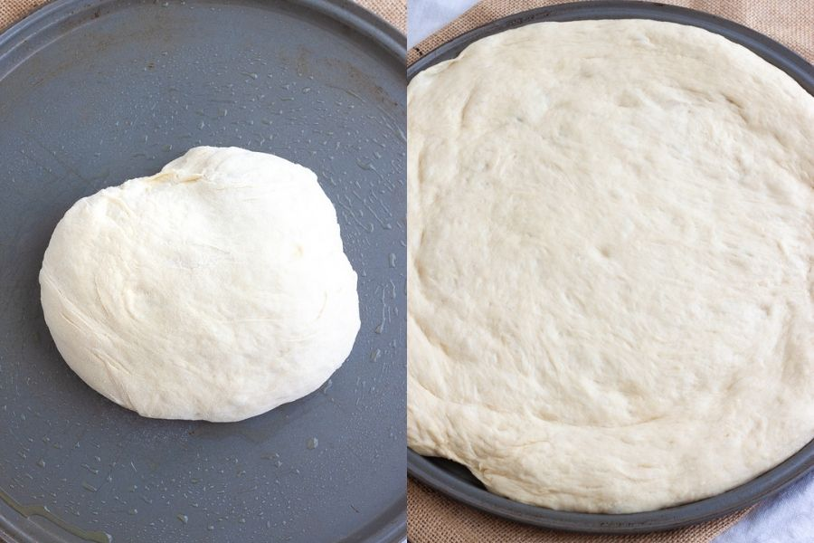 Homemade Vegan Pizza Dough