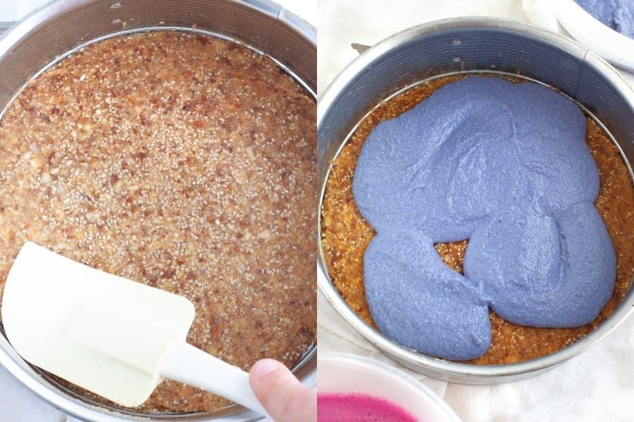 Unicorn Cheesecake Crust