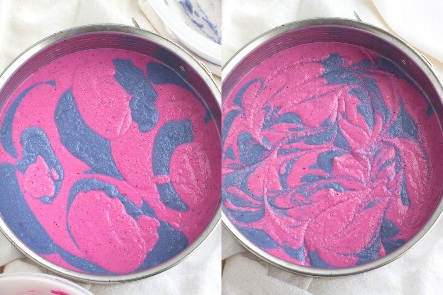 Unicorn Cheesecake Swirl