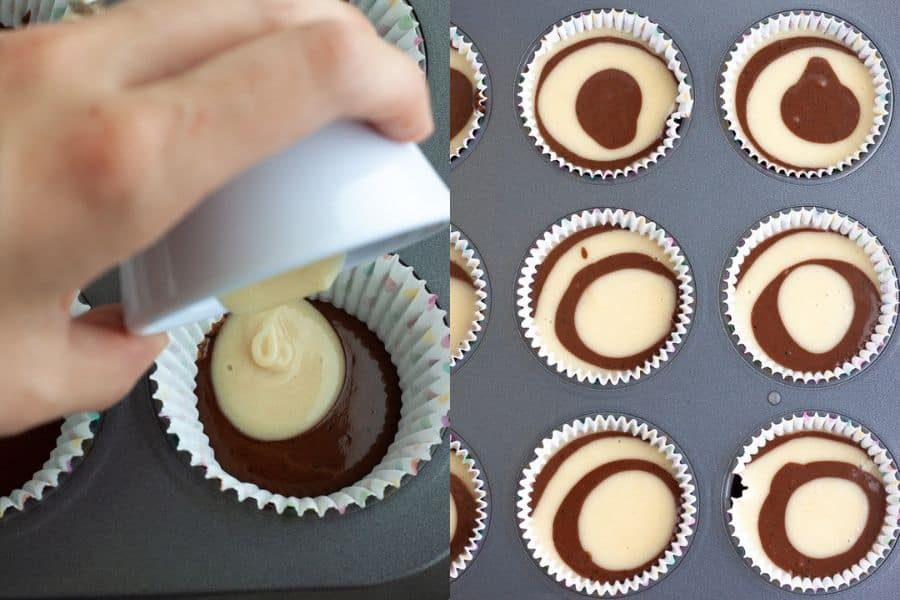 Vegan Swirl Cupcakes