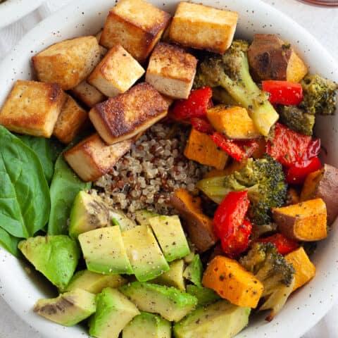 Easy Tofu Bowl