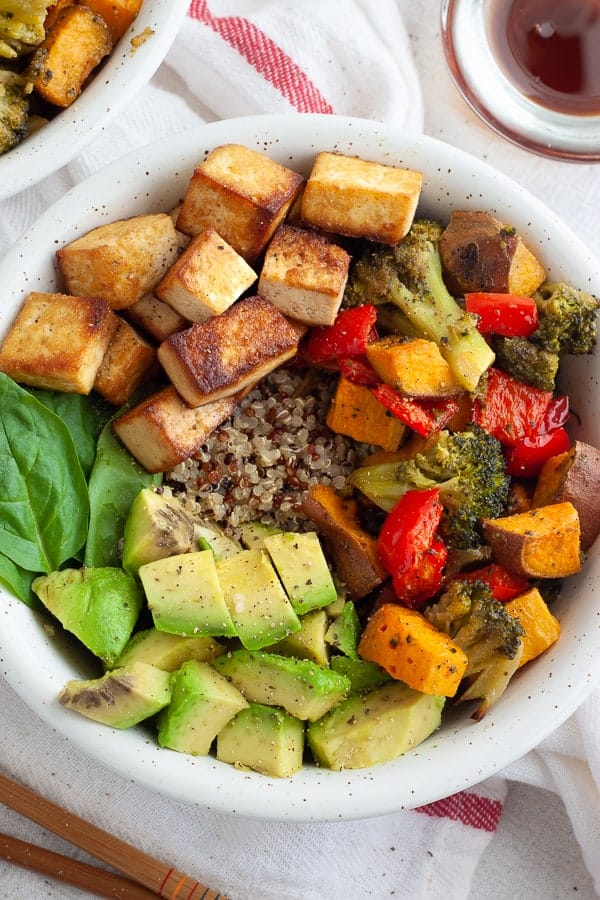 Easy Tofu Bowl