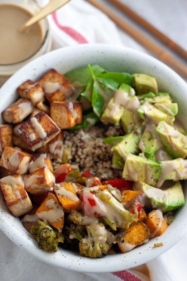 Healthy Vegan Buddha Bowl