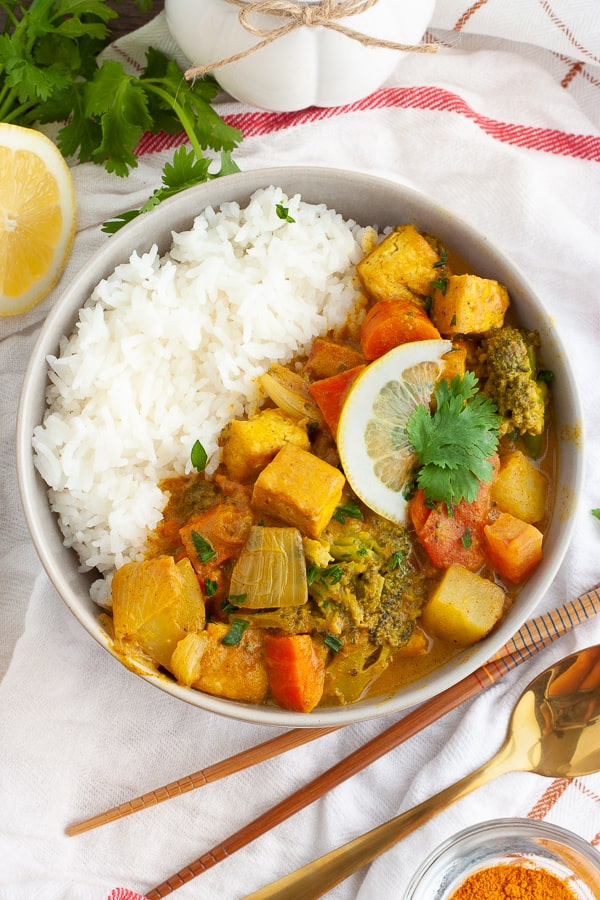 Vegan Yellow Curry