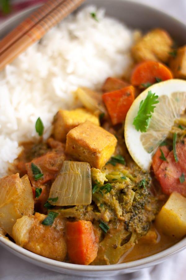 Healthy Vegan Curry