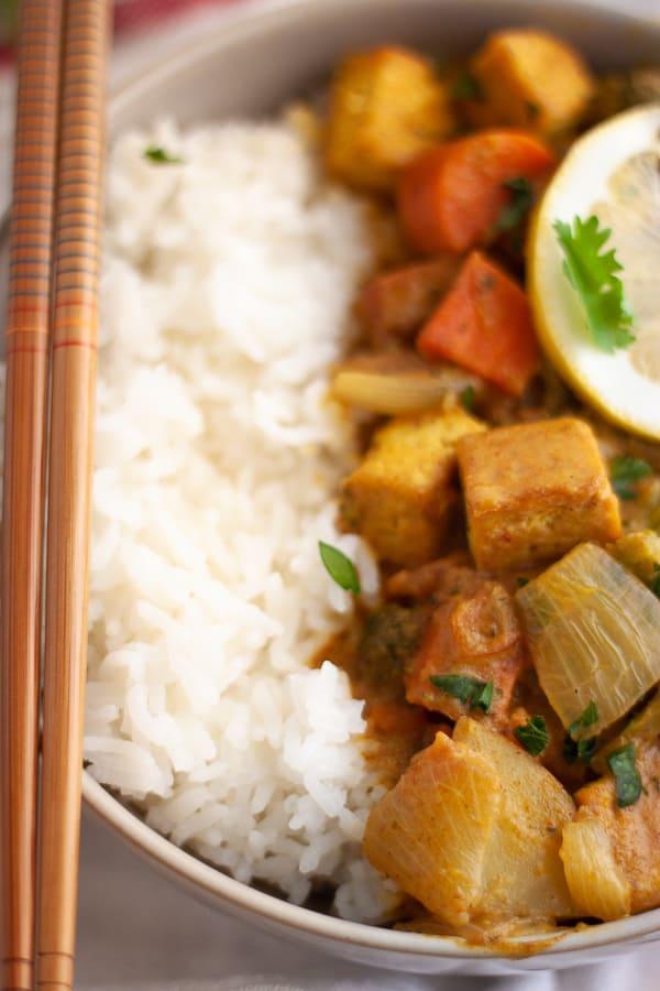 Vegan Yellow Curry Recipe