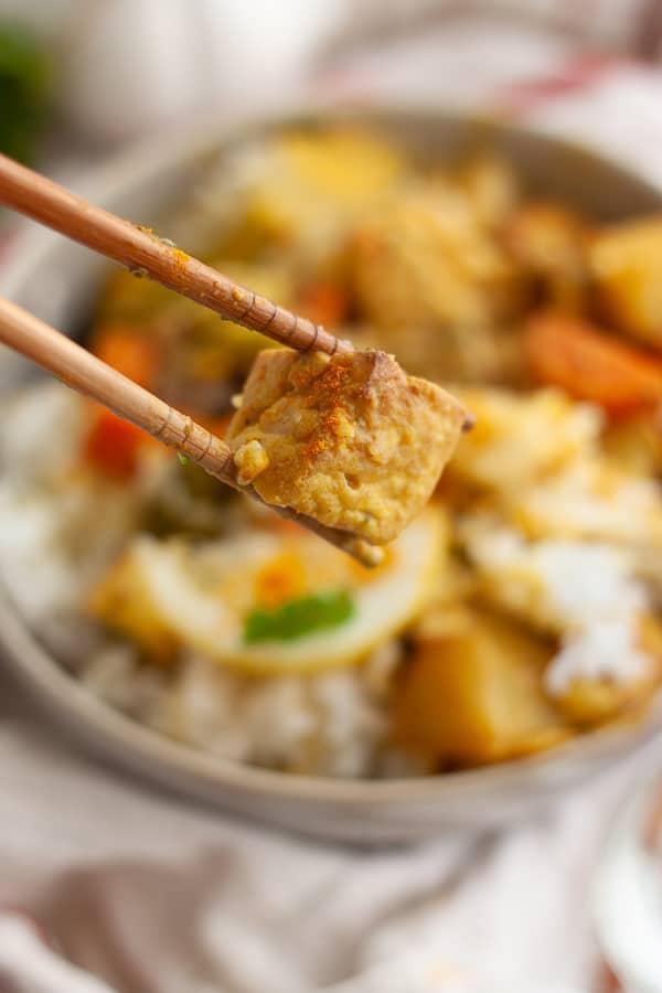 Homemade Vegetarian Curry