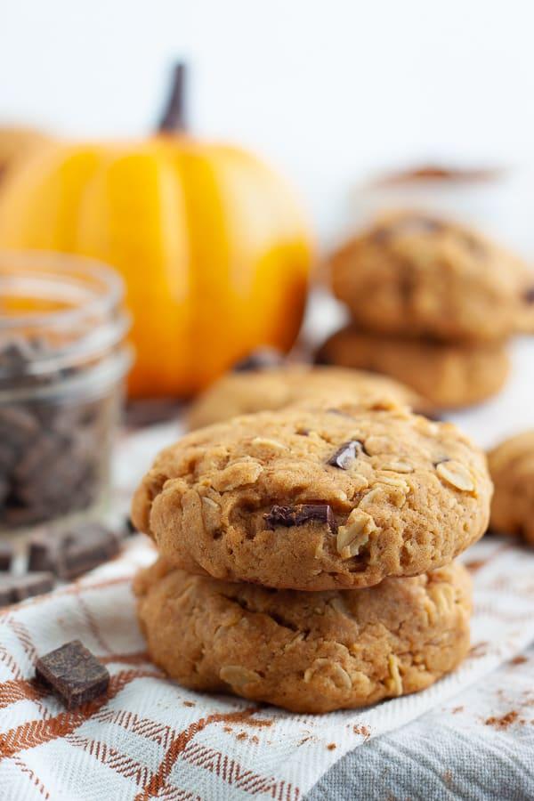 Chewy Baked Pumpkin Cookies