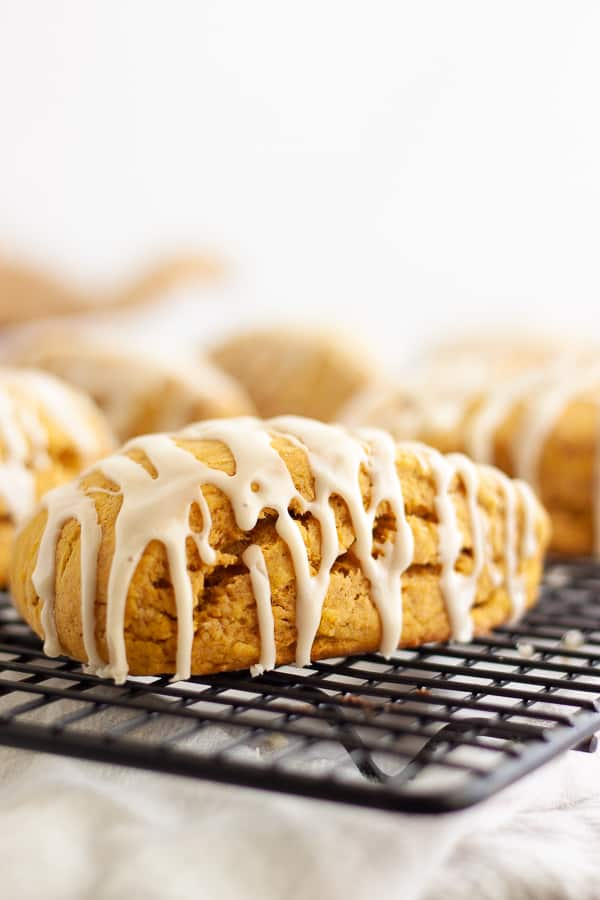 Vegan Starbucks Pumpkin Scones