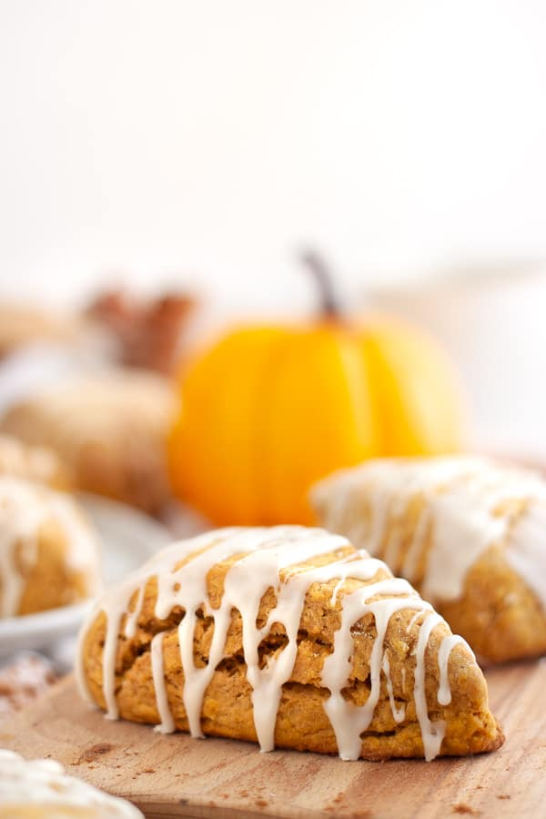 Homemade Pumpkin Scones