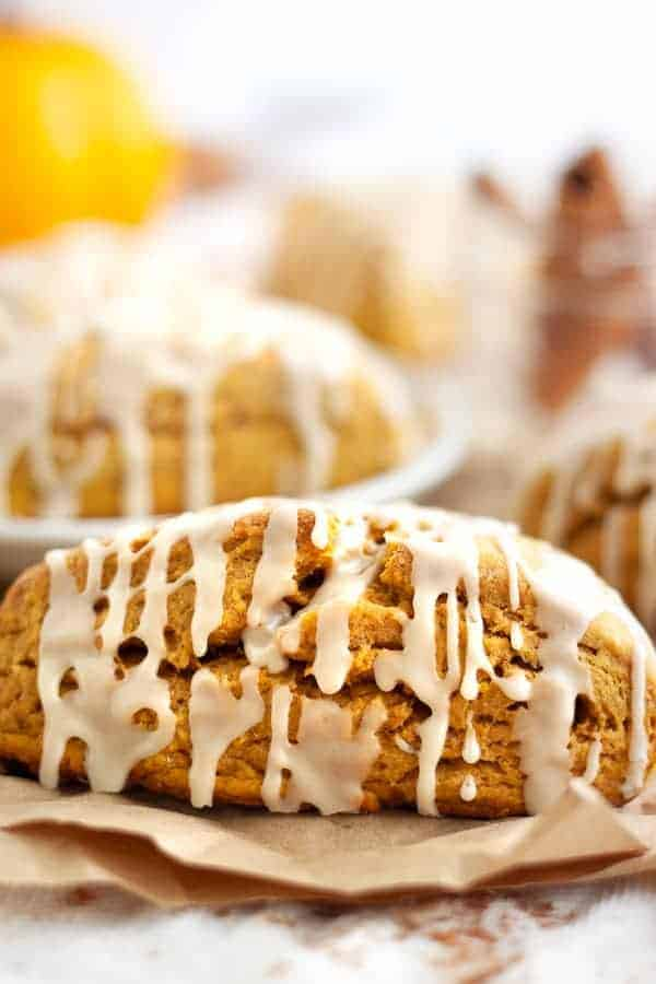 Vegan Starbucks Copycat Pumpkin Scones
