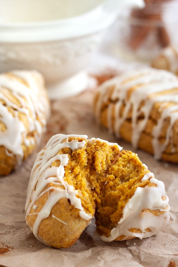 Vegan Pumpkin Scones Recipe
