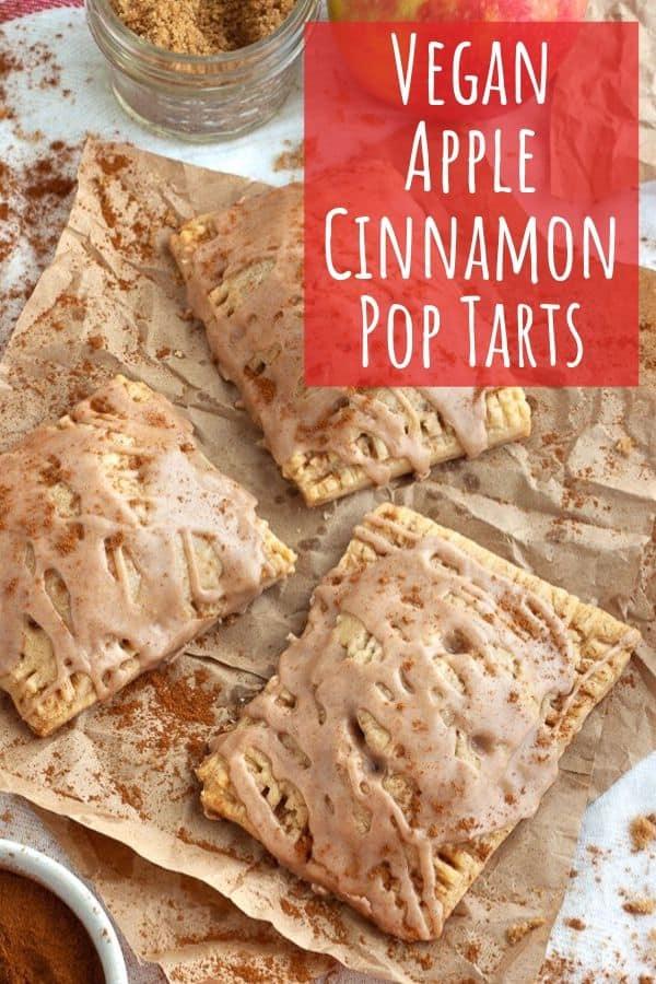 Vegan Apple Cinnamon Pop Tarts
