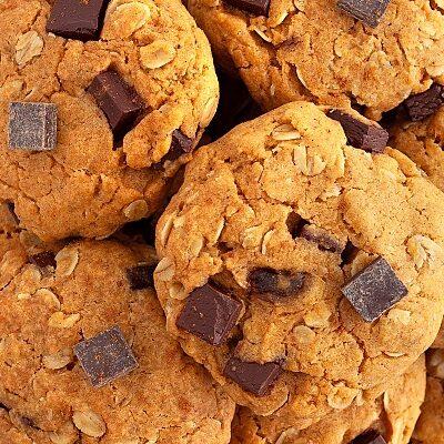 Chewy Pumpkin Oatmeal Cookies