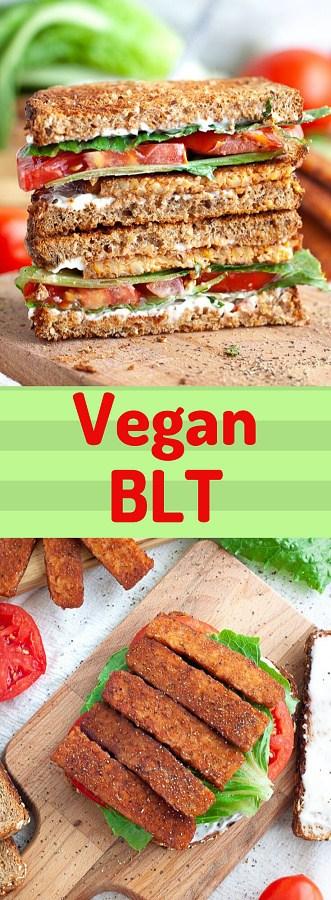 Vegan BLT