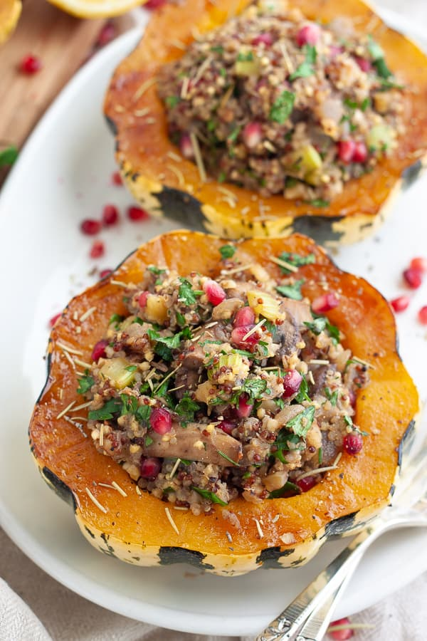 Quick and Easy Stuffed Squash