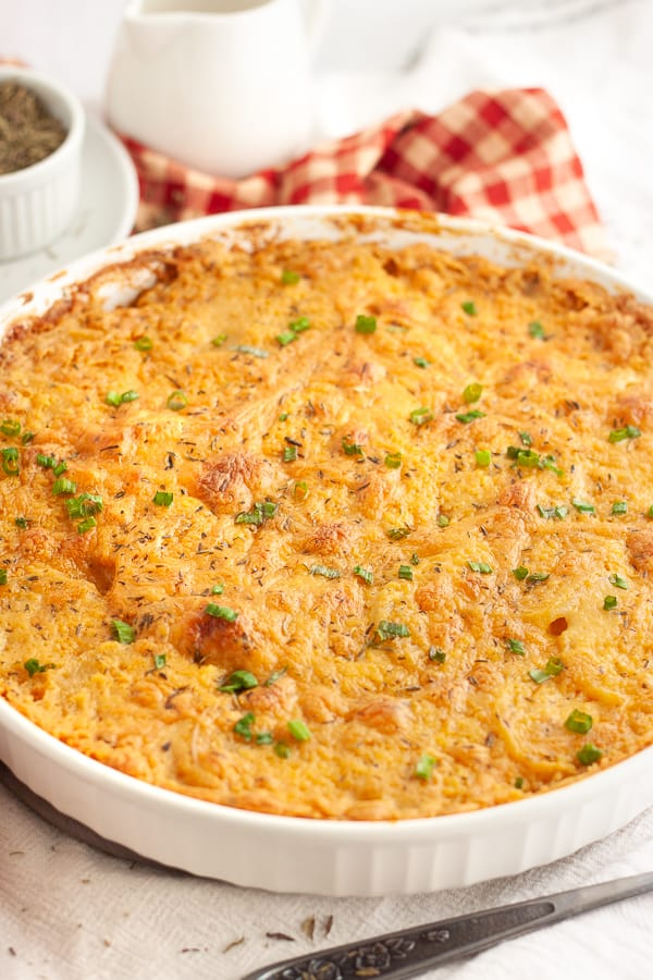 Cheesy Scalloped Potatoes Vegan