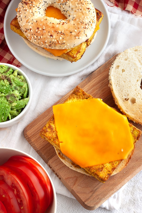 vegetarian-breakfast-sandwich